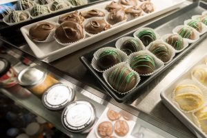 Customers love the wide variety of sweet confections available at Cafe' Rhema. Photo: Paul Engstrom