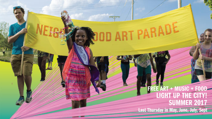 Light Up the City, Art Parade brings police community closer together