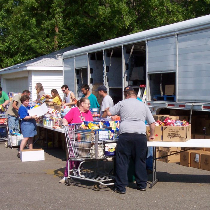 September mobile pantry trips bring groceries closer to home