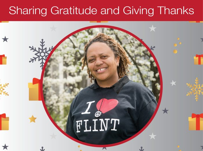 Expressions of gratitude and thanks abound this holiday season