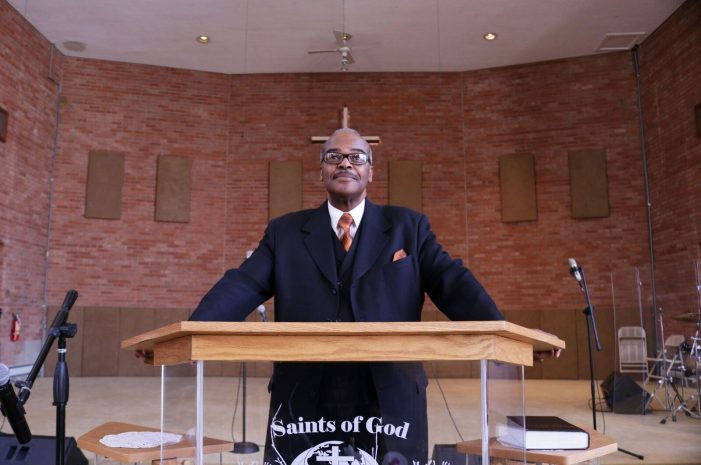 Pastor Alfred Harris' keeps focus on good work