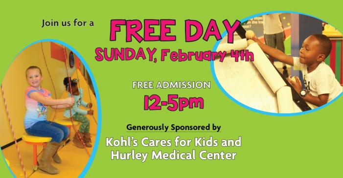 Free day at Flint Children's Museum Feb. 4