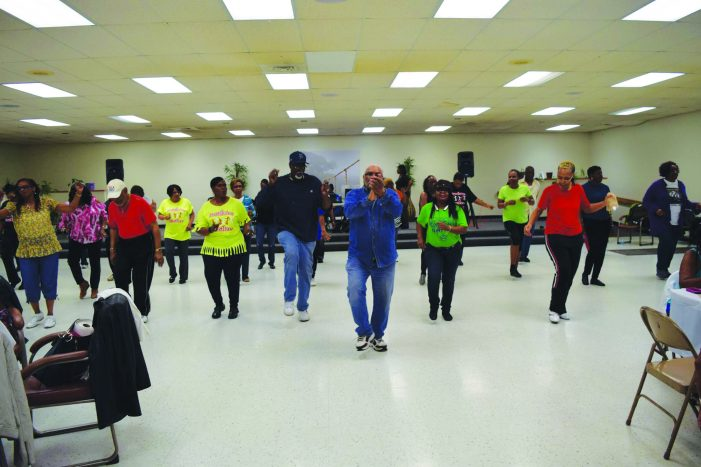 Heart and hustle: Seniors in Hasselbring Hustlers can't stop dancing to the music