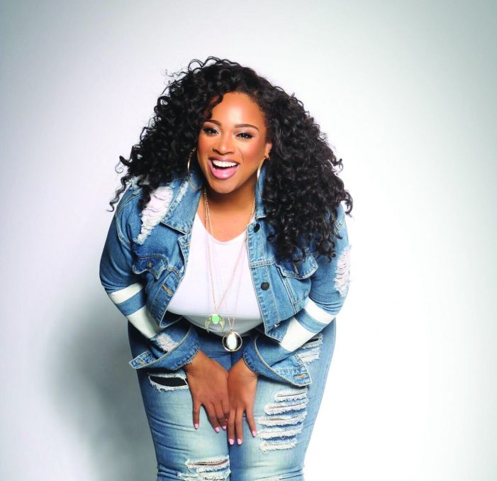 National recording artist and voice of inspiration Kierra Sheard to headline Savor the Flavor of Flint Jan. 27