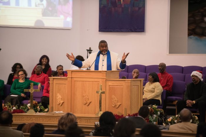 Pastor Kenneth Stewart believes understanding God's word is key to Flint's revival