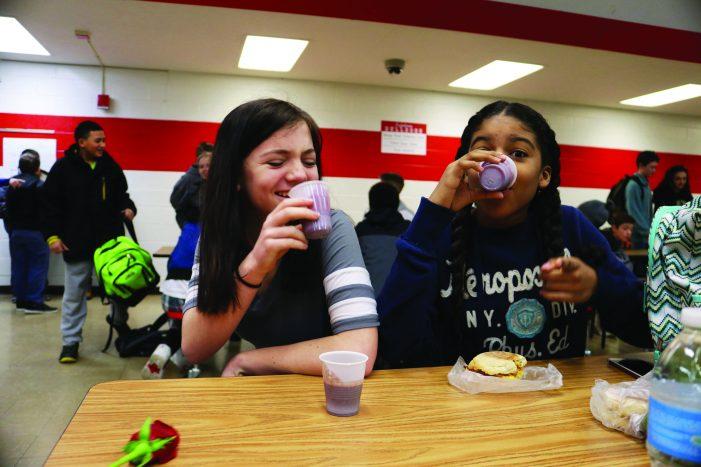 Pedal Power: Smoothie bike steers kids to healthy breakfast foods