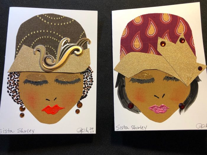 Sista Girl changes the face of greeting cards, makes them from GM vehicle interiors