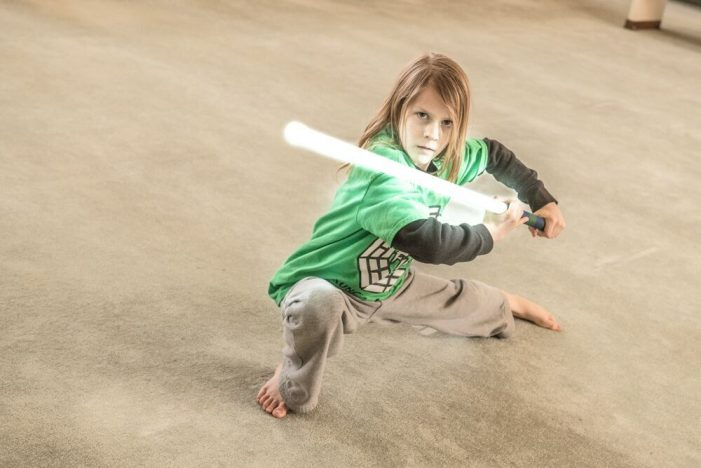 Not just for kicks: Martial artist uses training to encourage health and success