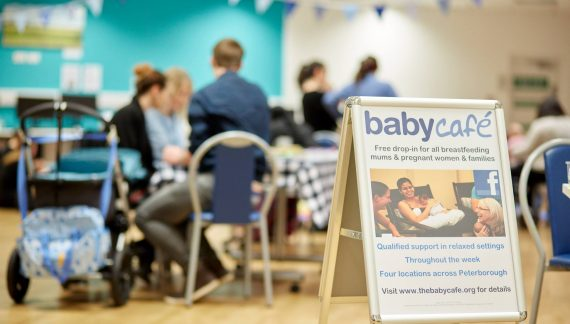 Baby Café boosts support for breast-feeders