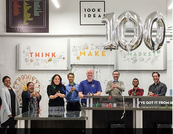 100K Ideas celebrates its 100th idea for economic development in Flint