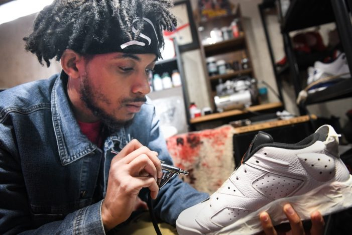Sole man: Determination helps shoe repair specialist fill niche in Flint