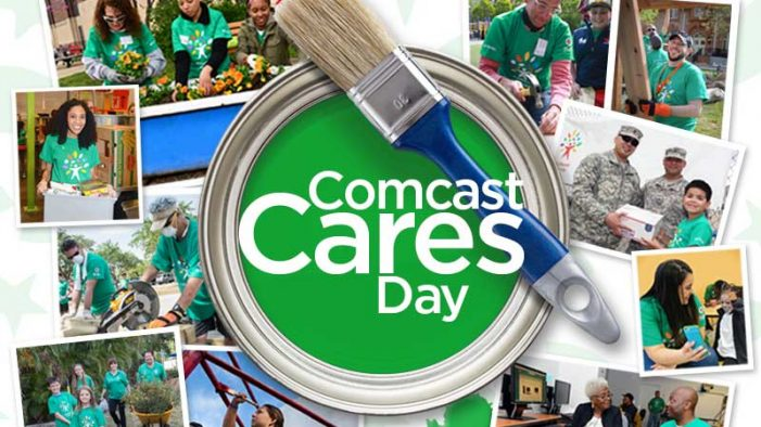 Flint and Detroit volunteers are invited to help Comcast show it cares April 21