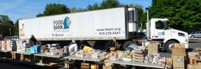 Mobile food pantry offers nutritious food for Flint families in April