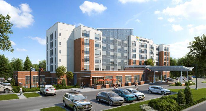 New Hyatt hotel to open Hill Road
