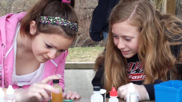 Students use chemistry kits to test water in streams, river; will share results at Flint River GREEN summit