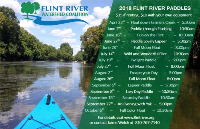 Flint River Watershed Coalition launches kayaking trips on the river