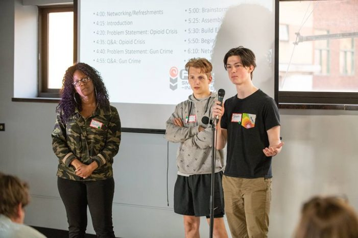 Reverse Pitch Competition at Factory Two aims to bring gigabit solutions to gun violence, opioid addiction