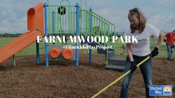 Volunteers needed to help build new playgrounds in six Flint parks