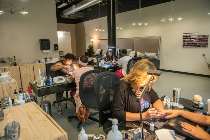 Flint's Eight Ten Nail Bar pampers body and spirit