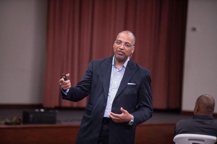 George Wilkinson calls on change agents to transform Flint