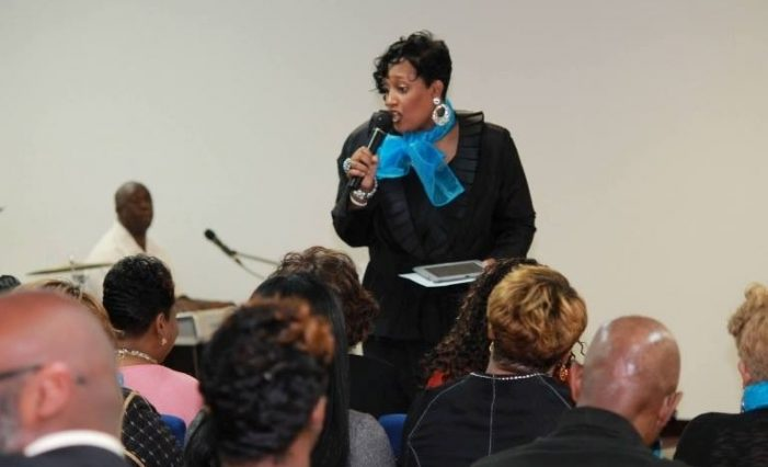 Women's advocate inspires by using a spiritual focus