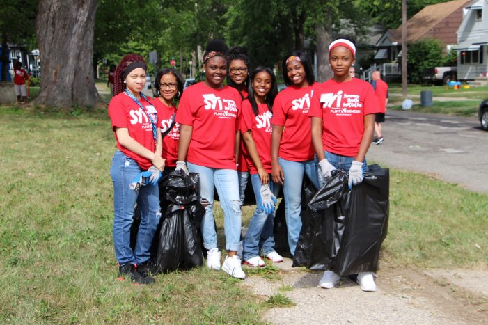 300 youth will work toward a cleaner Flint on Volunteer Service Day