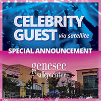 Celebrity Guest BIG Announcement at Gensee Valley!