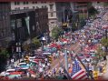 Thousands of classic car fans get revved up for annual Back to the Bricks automotive showcase