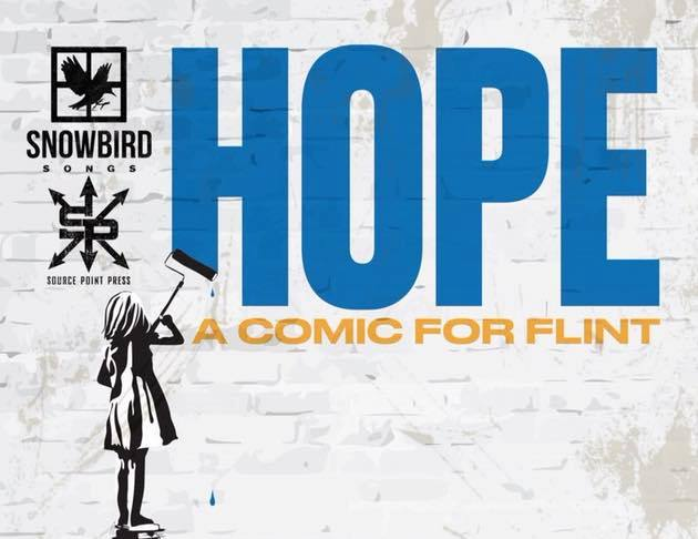 10 Flint writers, artists come together to create 'Hope: A Comic for Flint'