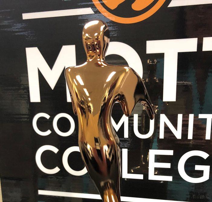 Mott Community College's brand anthem takes bronze prize