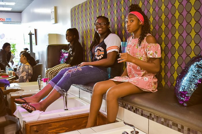 Child-friendly Sweet Tee's salon fills a niche among Flint's pampering spas