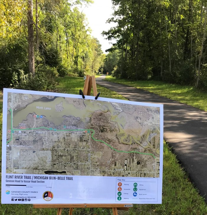 Genesee County Parks & Recreation expands Iron Belle Trail