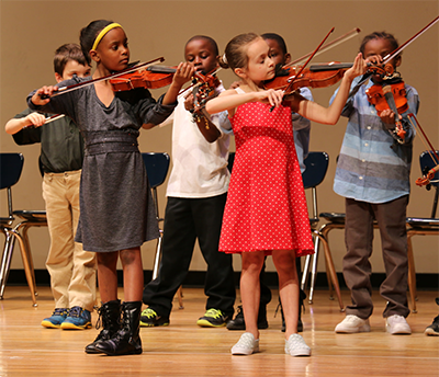 Sphinx Overture offers Flint kids free violin lessons, music education and teaches crucial life skills