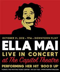 AMA-nominated R&B sensation Ella Mai to perform at the Capitol Theatre