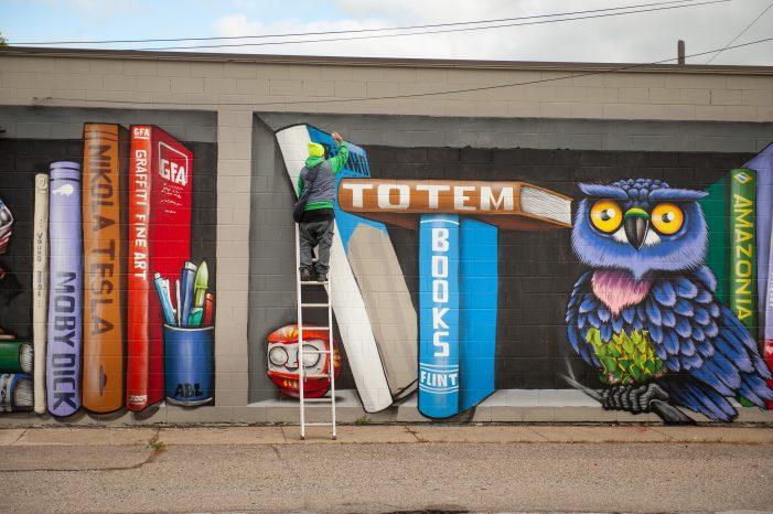 International muralists leave artistic impressions in Flint