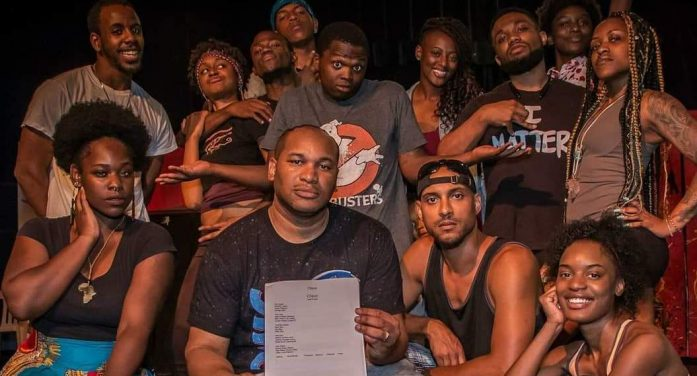 Theatre's stage.  Spoken-word performers premiere 'poetical' at The New McCree Theatre Nov. 23
