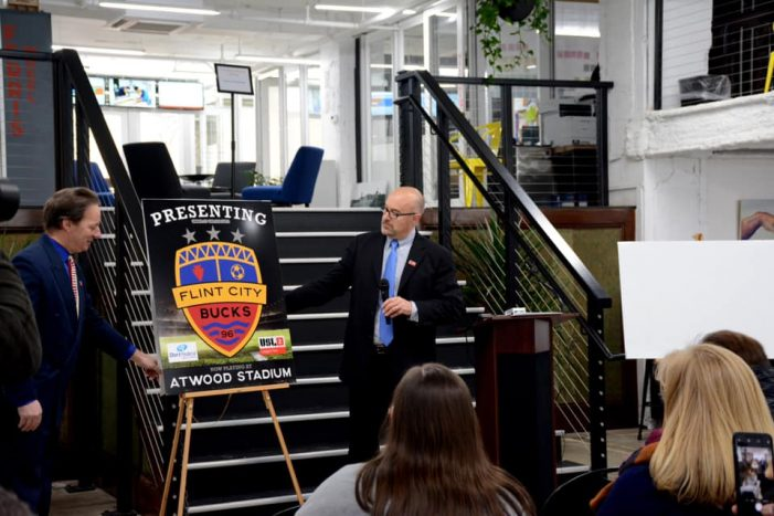 Flint soccer franchise salutes city's history with new name and look