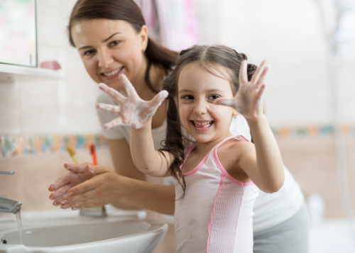 Join the Clean Hands Club: Tips for teaching proper hand-washing at home