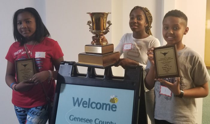 BEEing the Best: Winners of Genesee County's popular battle of words announced