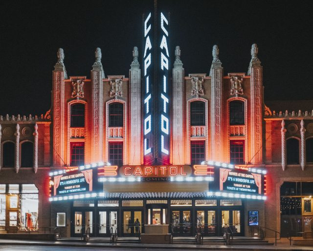 Capitol Theatre receives Governor's Awards for Historic Preservation