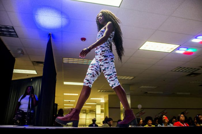 Flint's Fashion Against Bullying models are being the change they want to see