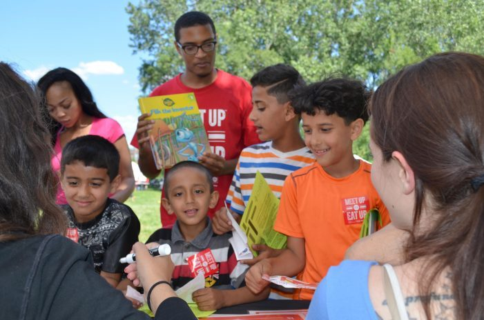 Students can Meet Up and Eat Up free summer meals