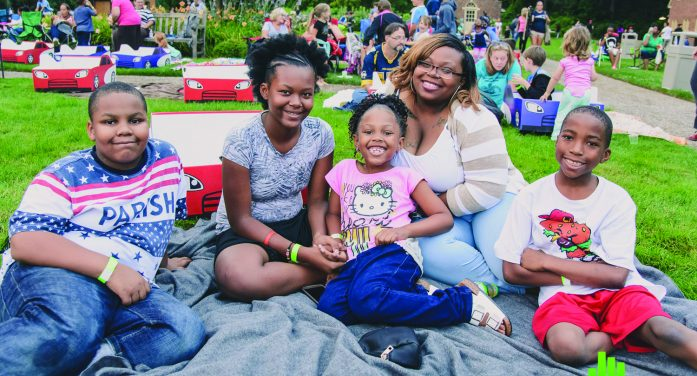 Stars shine as free summer films begin
