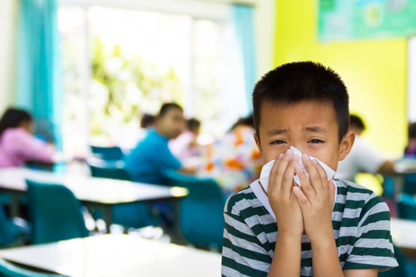 Teach your kids to be cold and flu fighters