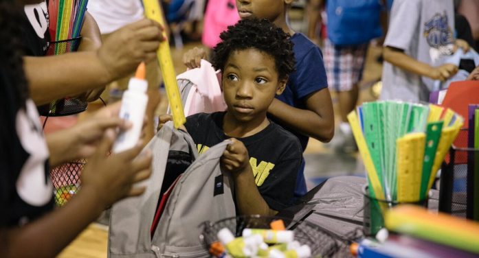 Flint's SBEV helps area residents stay healthy, hydrated and prepped for school