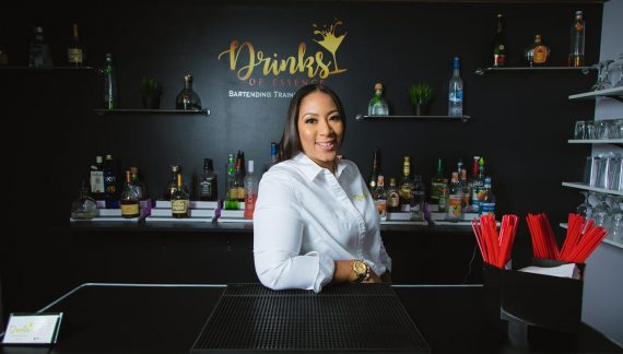Master mixologist Sheena Harrison adds flavor to area events and bartending school