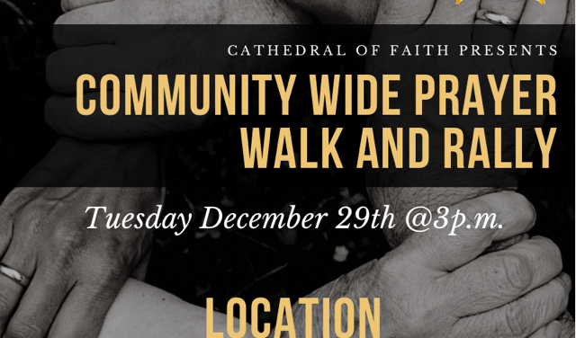 Pastors, churches to march around First Ward in response to violence over the Christmas holiday